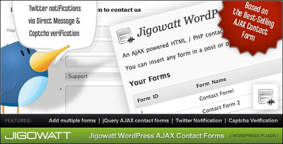 AJAX Contact Forms Plugin