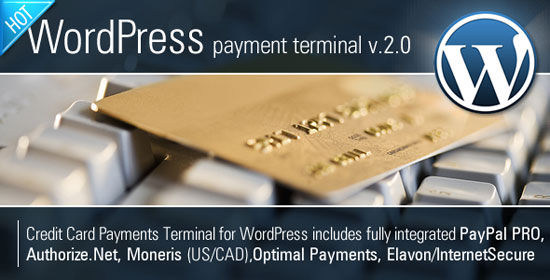 Credit Card Payments WordPress Plugin