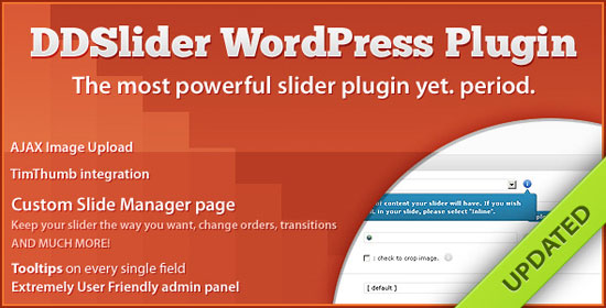 DDSliderWP - 11 Transitions - Slide Manager Panel Plugin
