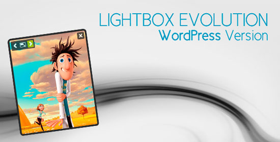 Lightbox Evolution for WordPress Plugin