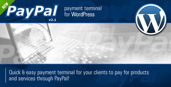PayPal Payment Terminal WordPress Plugin