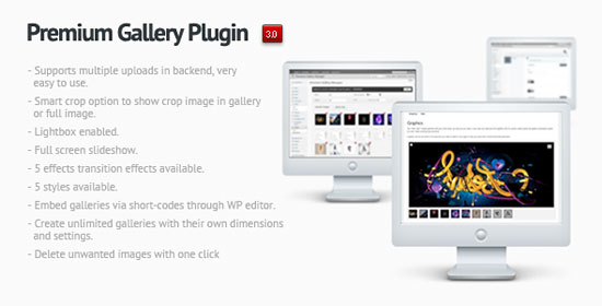Premium Gallery Manager Plugin