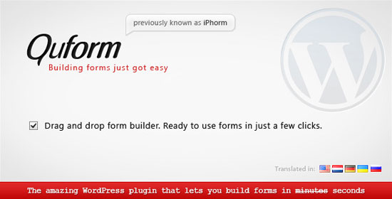 Quform - WordPress Form Builder Plugin