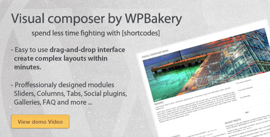 Visual Composer for WordPress Plugin