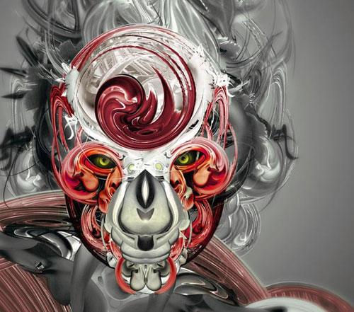 Create Awesome Abstract Illustrations Using Stock Art From Visual Freaks Photoshop tutorial