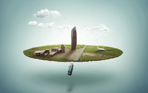 Create a Lost Fantasy Micro World with Powerful Photo Manipulation Techniques in Photoshop tutorial