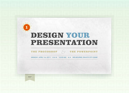 Create PowerPoint Presentation Graphics in Photoshop tutorial