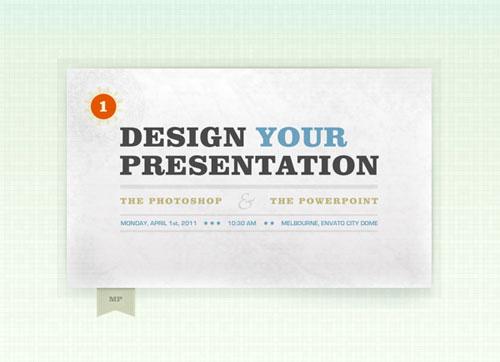Create PowerPoint Presentation Graphics in Photoshop tutorial
