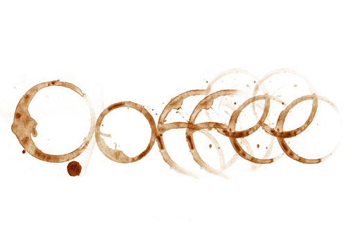 Coffee Stain Typeface ready For Print Typography Poster