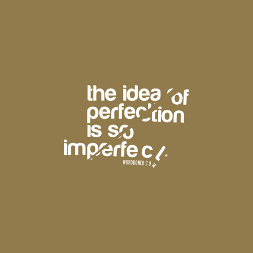 Perfect Idea Ready For Print Typography Poster