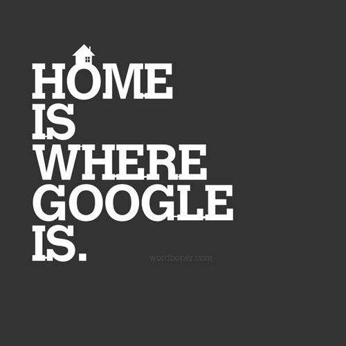 Home - A Geek Version Ready For Print Typography Poster