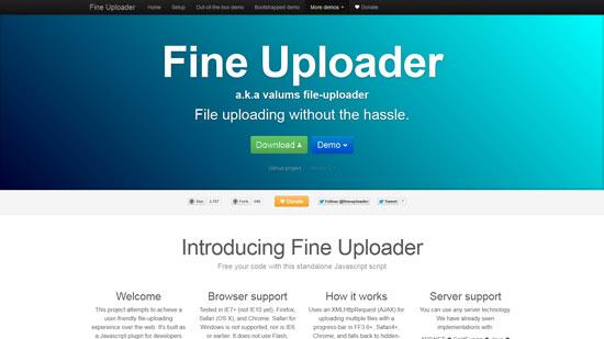 Fine Uploader