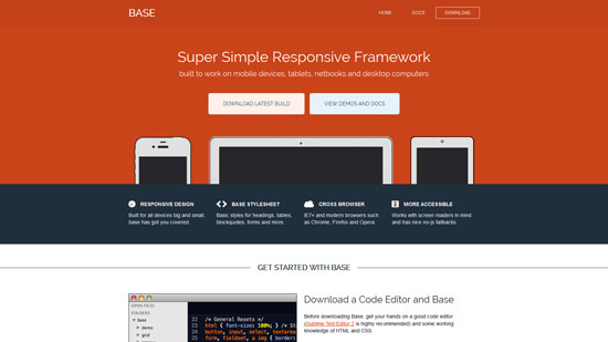 Super Simple Responsive Framework