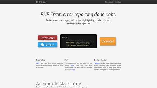 PHP Error, error reporting done right