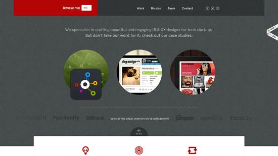 awesomenyc.com site design