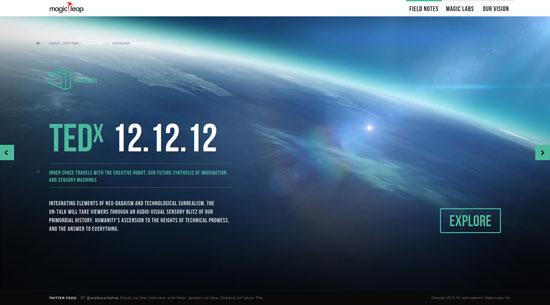 magicleap.com site design