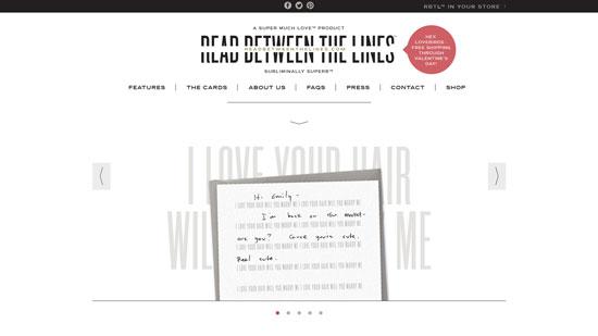 readbetweenthelines.com site design