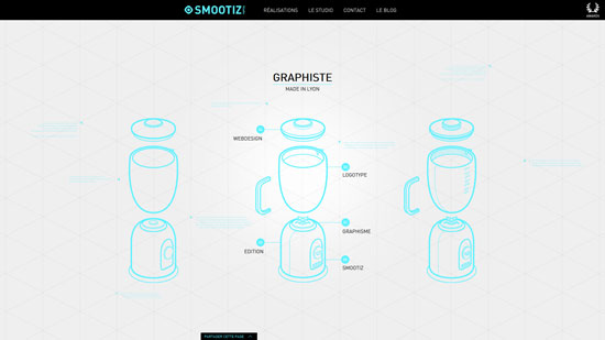 smootiz.fr site design