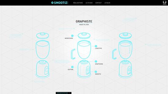 smootiz.fr site design