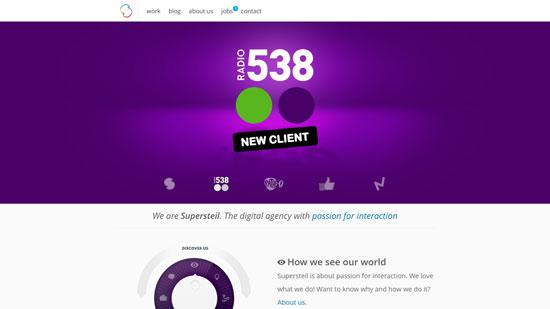 supersteil.com site design