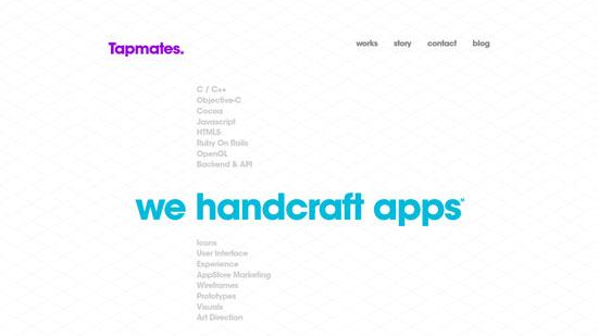 tapmates.com site design