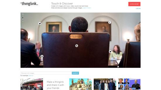 thinglink.com site design