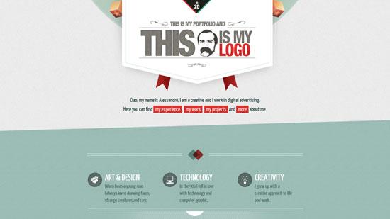 thisismyonlineportfolio.com site design