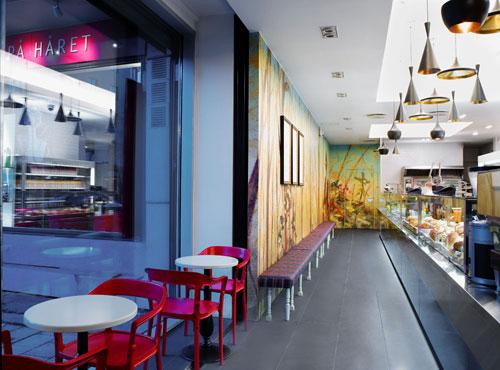bit bogstadveien 3 restaurants and coffee shops with beautiful interior design - Blue Restaurant Design