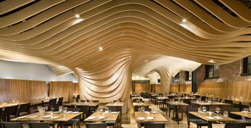 BanQ in Boston, MA, USA - Restaurants And Coffee Shops With Beautiful Interior Design