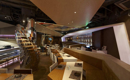 Haiku Sushi 1 Restaurants And Coffee Shops With Beautiful Interior Design