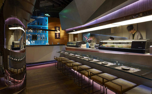 Haiku Sushi 3 Restaurants And Coffee Shops With Beautiful Interior Design