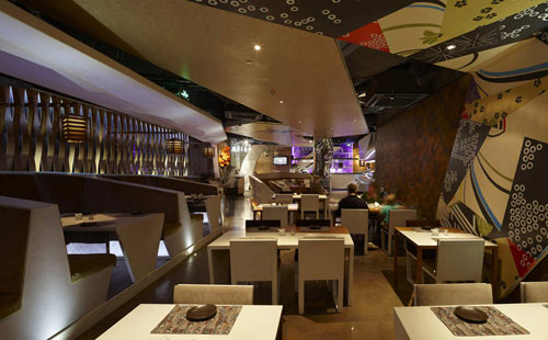 Haiku Sushi in Shanghai, China 5 - Restaurants And Coffee Shops With Beautiful Interior Design