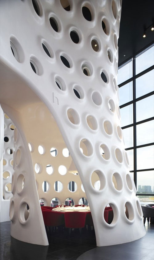 Honeycomb in Shenzhen, China 3 - Restaurants And Coffee Shops With Beautiful Interior Design