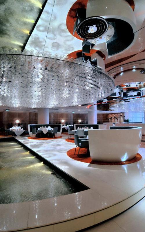 Jardin de Jade Restaurant in Shanghai, China - Restaurants And Coffee Shops With Beautiful Interior Design