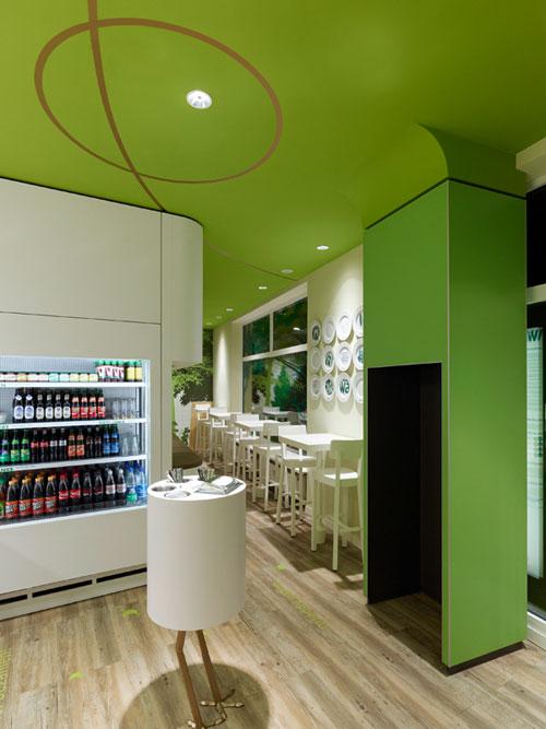 The Wienerwald Restaurant in Munich, Germany 3 - Restaurants And Coffee Shops With Beautiful Interior Design