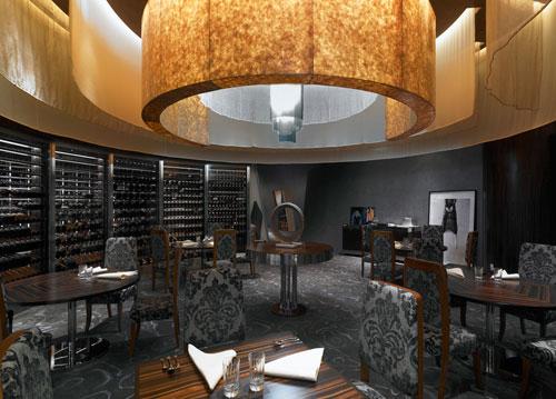 Waku Ghin Restaurant in Marina Bay Sands, Singapore - Restaurants And Coffee Shops With Beautiful Interior Design