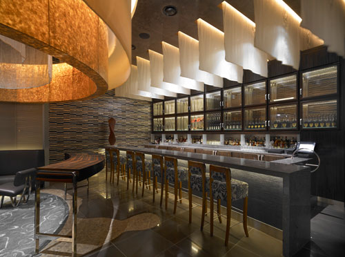 Waku Ghin Restaurant in Marina Bay Sands, Singapore 2 - Restaurants And Coffee Shops With Beautiful Interior Design