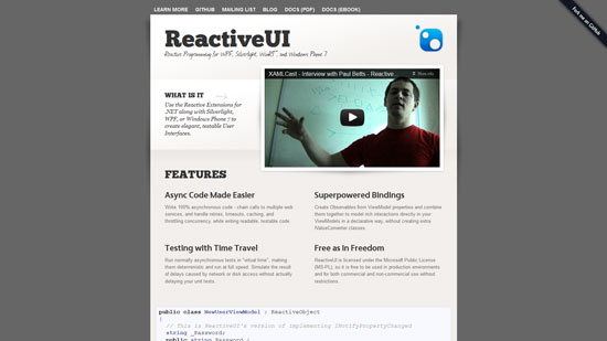 ReactiveUI: Reactive Programming for WPF, Silverlight, WinRT, and Windows Phone 7