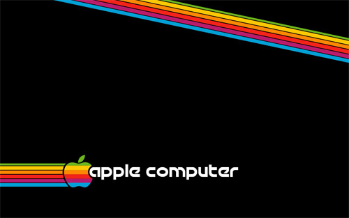 wallpaper computer science. Retro Apple Computer wallpaper