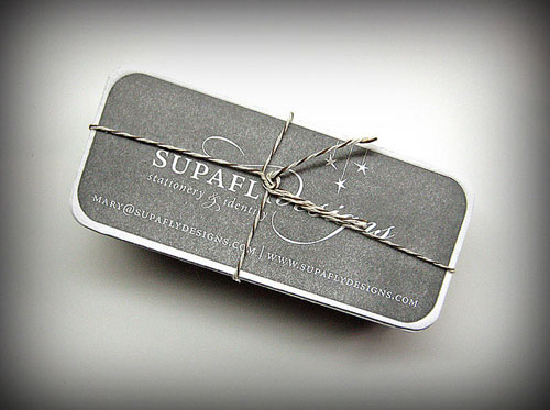 SupaFly Round Corners Business Card