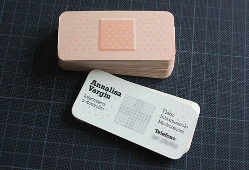 Annalisa Vargiu Round Corners Business Card
