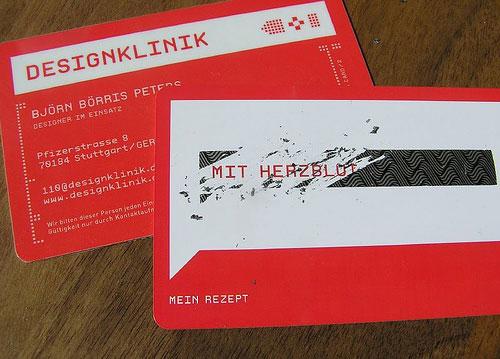 DesignKlinik Round Corners Business Card