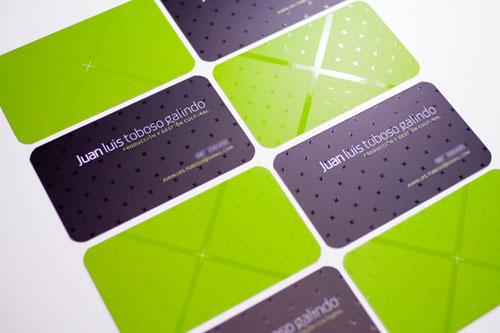 JTG Round Corners Business Card