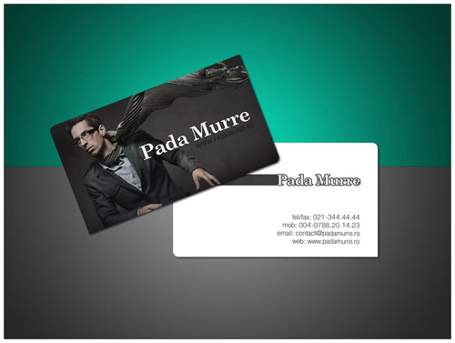 PadaMurre Round Corners Business Card