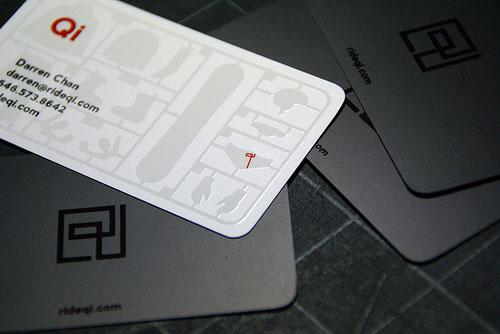 Ride Qi Round Corners Business Card