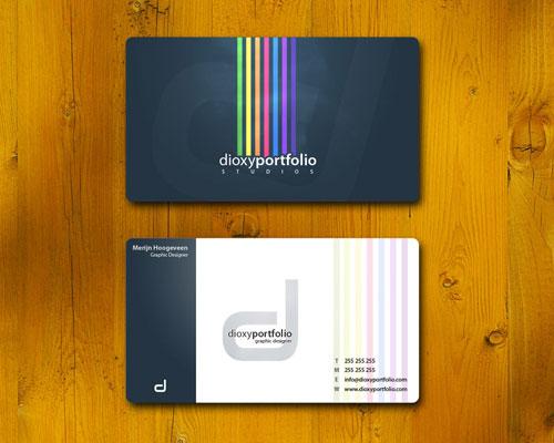 aasdas Round Corners Business Card