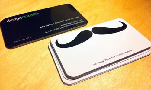 Design Crumbs Round Corners Business Card