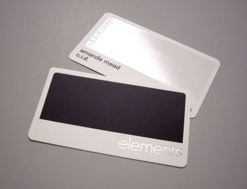 elements Round Corners Business Card