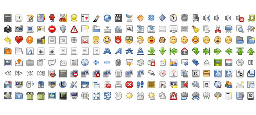 Useful Free Small Icons For Web Development Projects