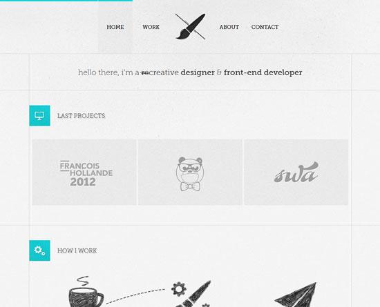 aleksfaure.com Site Design